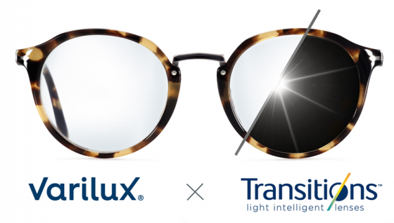 Varilux x Transitions Brillenglas
